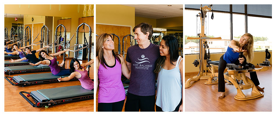 Pilates and Gyrotonic personal training, group fitness classes, and corporate wellness programs.